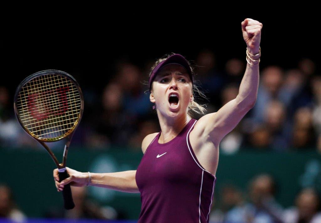Svitolina, campeã em título, é a sétima apurada para as WTA Finals. Sobra uma vaga e há três candidatas