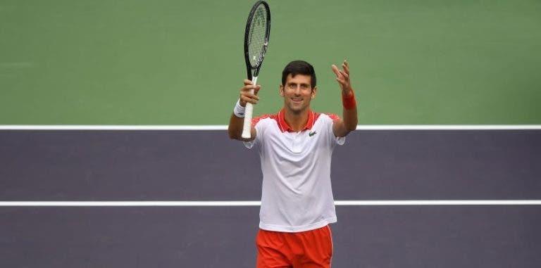 Djokovic ataca número 1 de Nadal: «Há hipóteses de jogar em Viena ou Basileia»