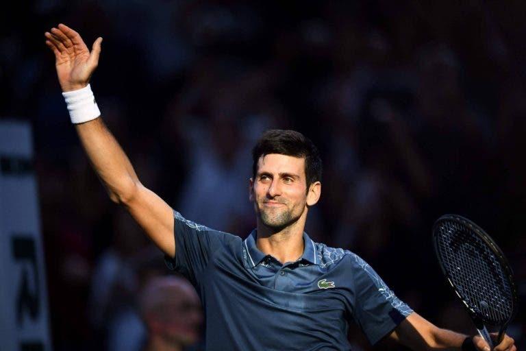 Djokovic faz aquilo que só Safin havia conseguido na história do ténis