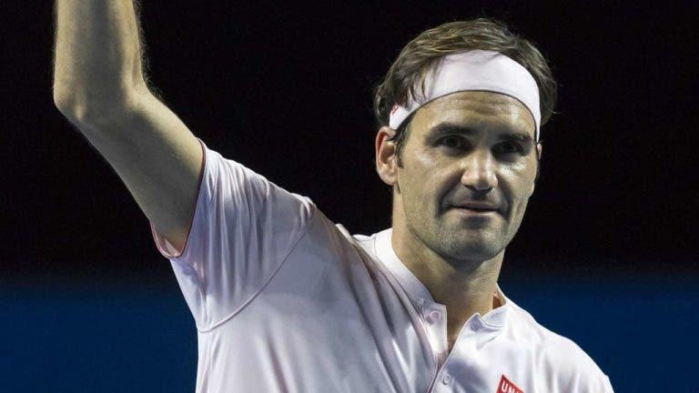 Roger Federer regressa esta tarde ao court em Basileia