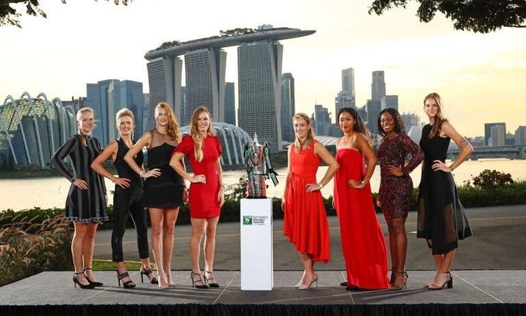 WTA Finals. Definidos os grupos para Singapura: Kerber, Stephens e Osaka juntas