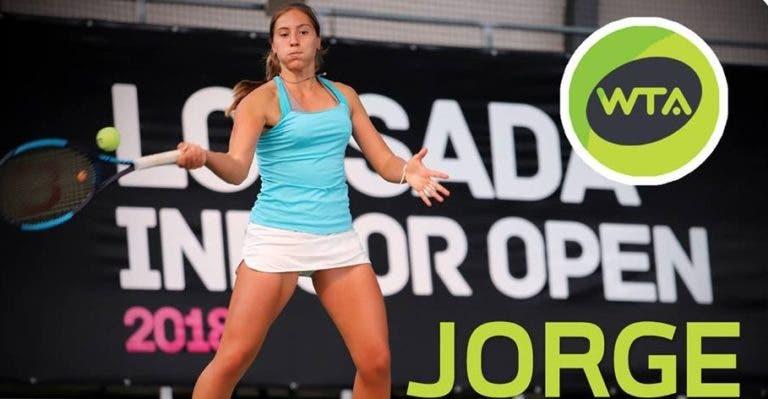 Portugal-Israel, 1-1: Francisca Jorge arrasa e empata duelo na Fed Cup