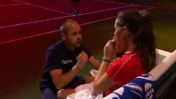 [VÍDEO] Treinador de Kasatkina deu mais um show e ajudou a virar a final de Moscovo