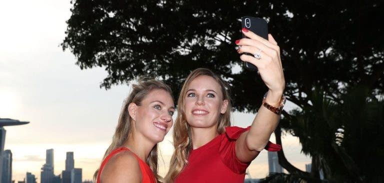 [FOTOS] Estrelas do WTA brilharam em Singapura e até Capriati apareceu