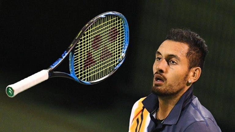Kyrgios avisa que se ganhar o Australian Open não joga mais este ano