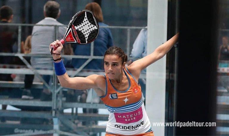 Ana Catarina Nogueira brilha rumo aos quartos-de-final em Granada