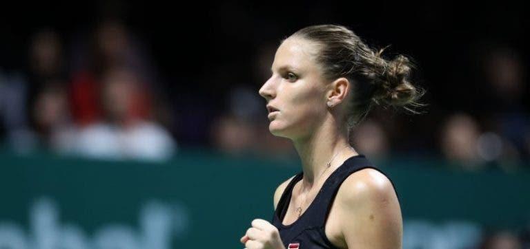 WTA Finals. As contas do Grupo Branco após a primeira jornada