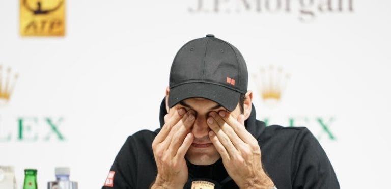 Federer: «Estou muito contente com o meu nível. Coric mereceu e ganhou»