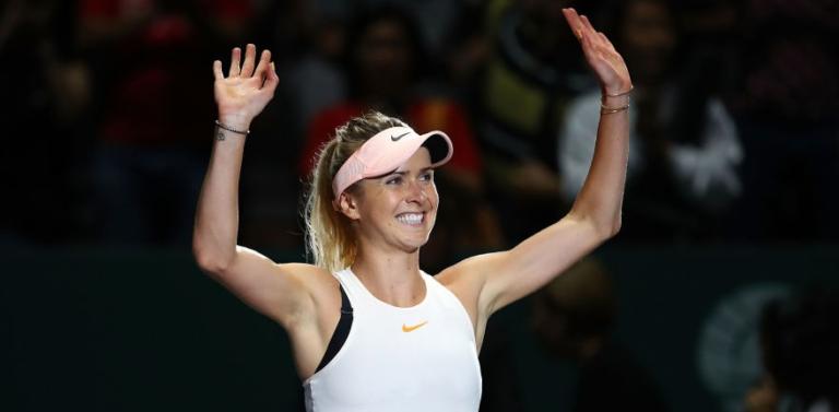 Svitolina garante meias-finais das WTA Finals mesmo sem acabar o encontro com Wozniacki