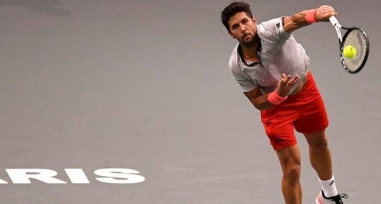 Fernando Verdasco passa a ser o jogador com mais duplas faltas… na história do ténis