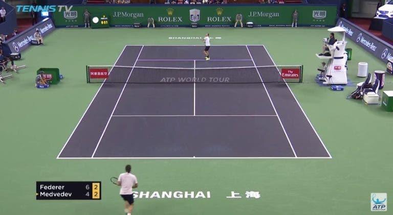 [VÍDEO] Os melhores pontos do ATP Masters 1000 de Xangai
