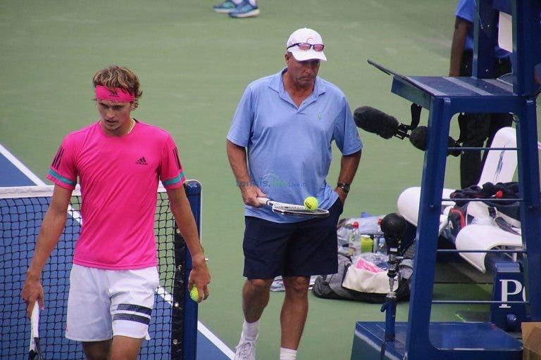 Becker: «Algo quebrou entre o Zverev e Lendl após as ATP Finals»