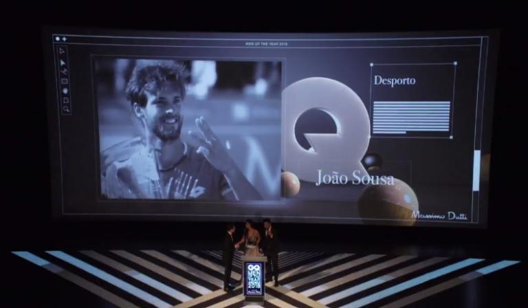 João Sousa é o Homem do Ano no Desporto para a GQ