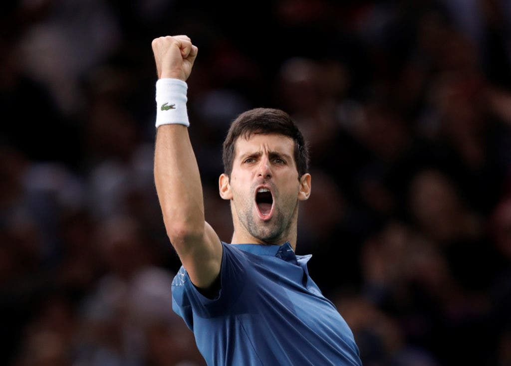 Dois tenistas entre os 10 atletas mais dominantes de 2018