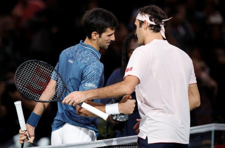 Djokovic avisa: «Já tentaram reformar o Federer algumas vezes e enganaram-se»