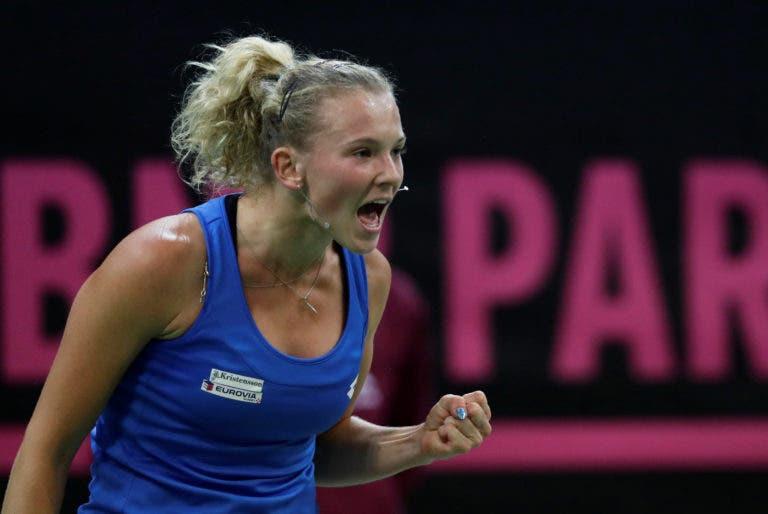 República Checa impõe-se no primeiro dia e está a uma vitória de conquistar a Fed Cup