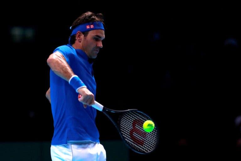 Federer despacha Thiem e garante primeira vitória nas ATP Finals