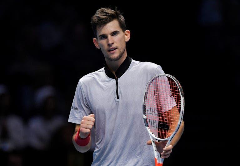 Thiem derrota um irreconhecível Nishikori e ainda sonha com 'meias' nas ATP Finals