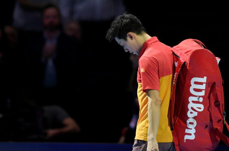 Nishikori sobre a má exibição com Thiem: «Foi um jogo igual ao do Anderson… cometi demasiados erros»