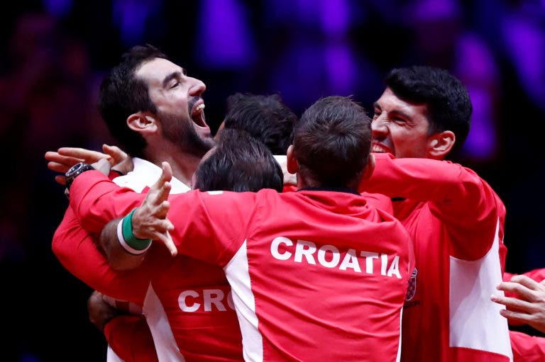 [VÍDEO] Foi com este incrível lob que Cilic deu o segundo título da história à Croácia