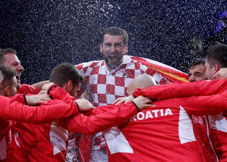 A felicidade de Cilic: «Não são todos os dias que nos tornamos campeões do mundo»