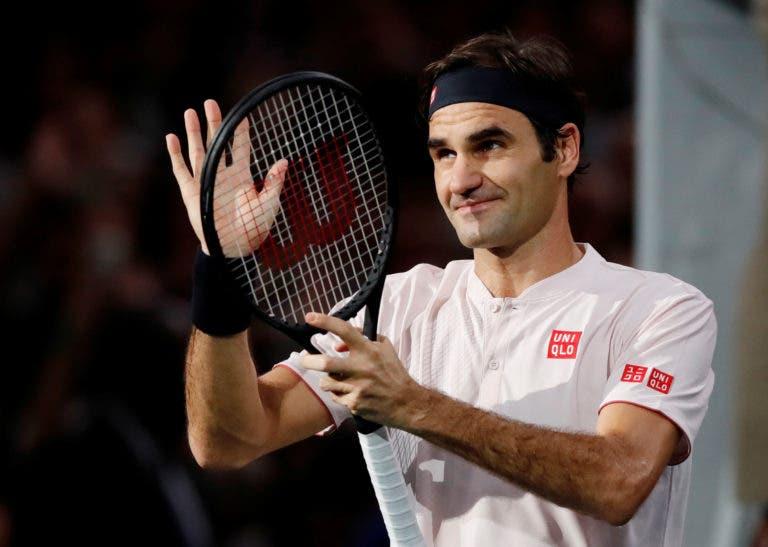 Federer vai terminar época no top 3 pela 14.ª vez nos últimos 16 anos