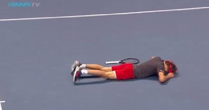 [VÍDEO] O ponto monumental que valeu o título nas ATP Finals a Sascha Zverev