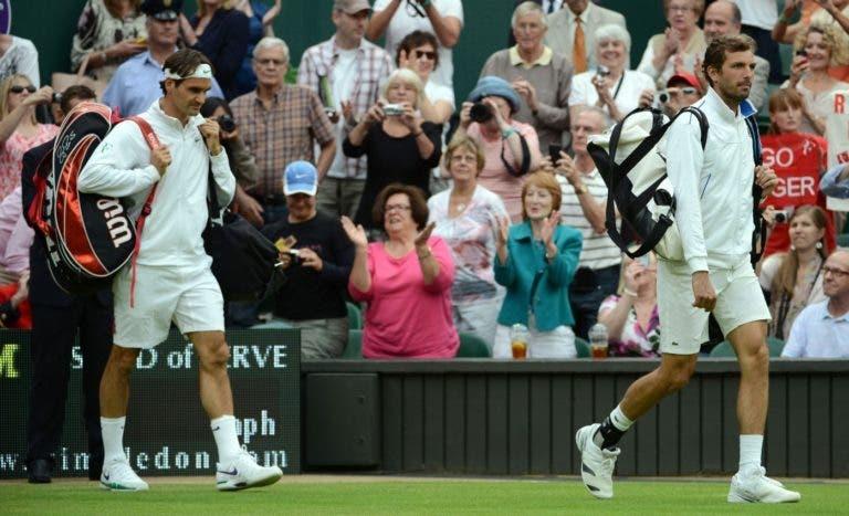 Benneteau denuncia favorecimento a Federer por parte do ATP e de alguns torneios