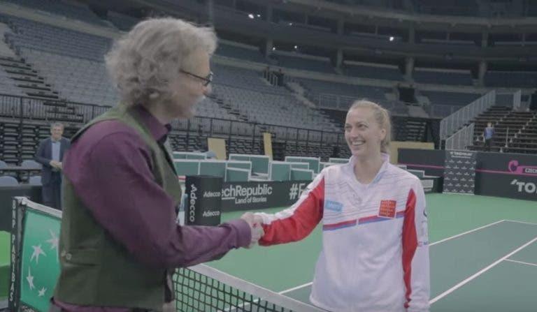 [VÍDEO] Berdych mascarou-se e surpreendeu Kvitova de forma sensacional