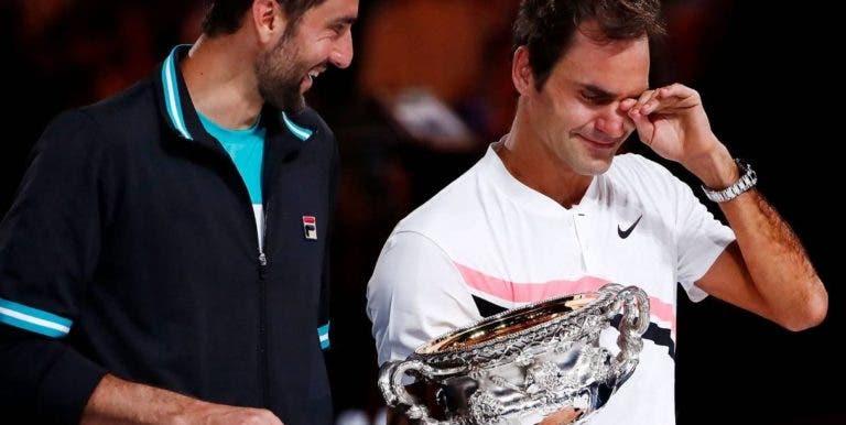 Cilic, um dos visados por Benneteau: «Na Austrália mudaram as regras antes da final com o Federer»