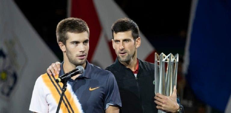 Coric: «Djokovic vai ganhar mais 5 ou 6 Grand Slams certamente»
