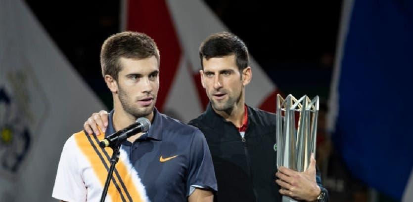 Coric: «Quero muito vencer o Djokovic, é o meu maior desejo»