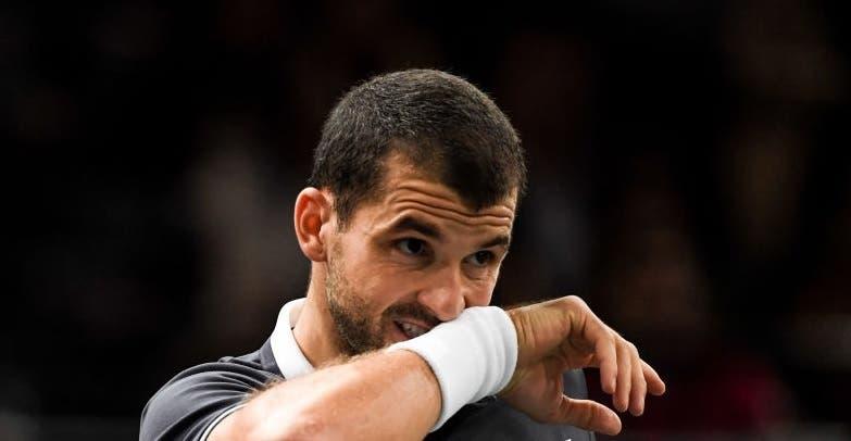 Dimitrov vai sair do top 40 mais de seis anos depois