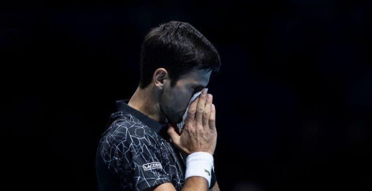 Djokovic garante que continua com febre: «Hoje foi ainda pior»