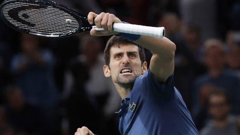 Prémio 'Regresso do Ano' vai parar às mãos de Djokovic