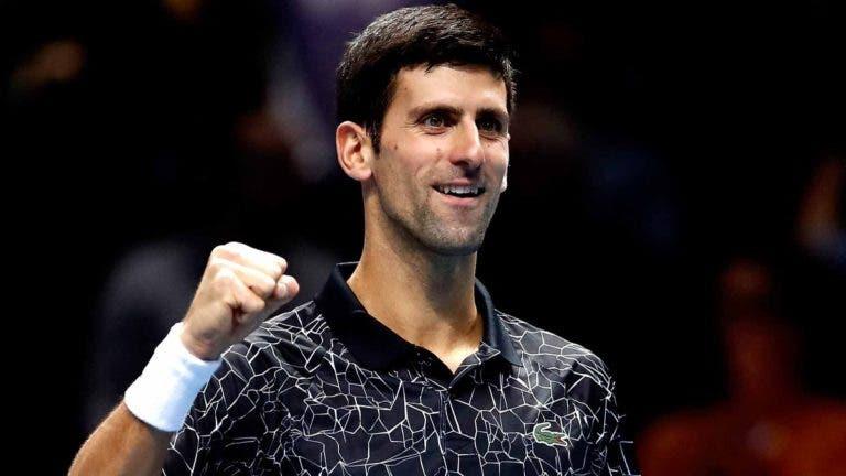 Impressionante: Djokovic agora lidera o confronto direto frente a todos os membros do atual top 10