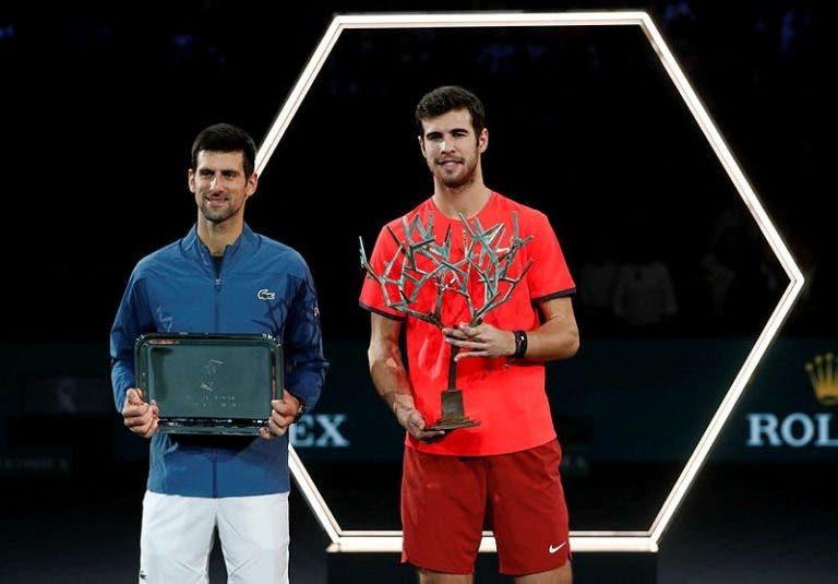Djokovic: «Não estive muito bem. Todo o crédito para o Khachanov»