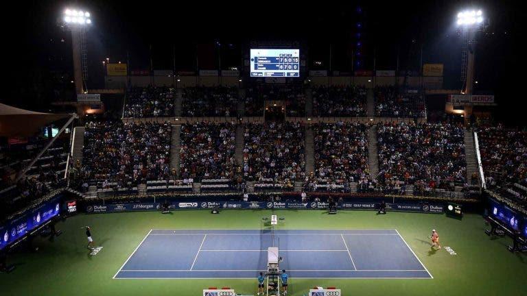Conheça o quadro completo do ATP 500 do Dubai, com duelos de LUXO