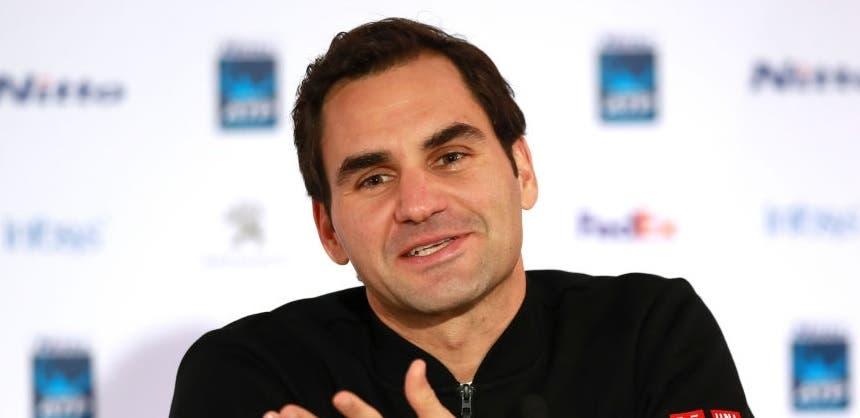 Federer espera que façam aos 25 anos o que ele fez aos 36
