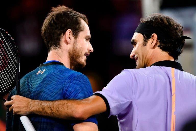 Federer é mais popular do que Murray na Grã Bretanha