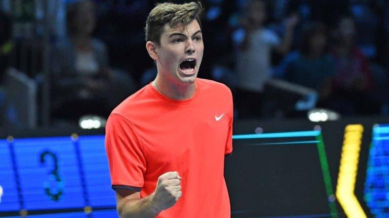 Fritz e Hurkacz somam primeiros triunfos nas ATP NextGen Finals