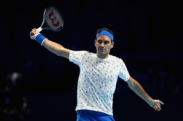 Como Federer se vai preparar para a temporada de 2019
