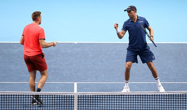 Mike Bryan e Jack Sock conquistam as ATP Finals