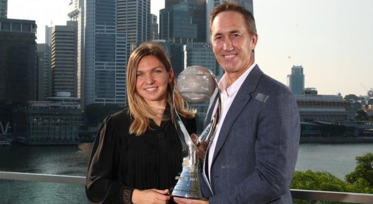 Simona Halep fica sem o treinador que a levou a número 1 WTA
