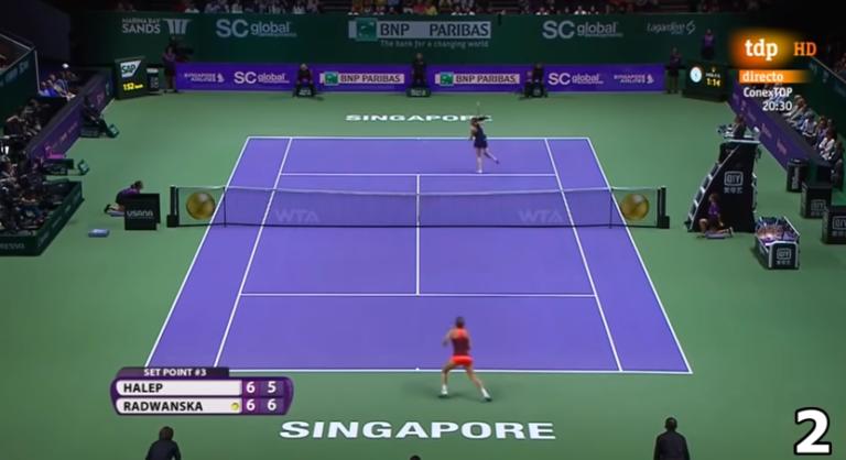 [VÍDEO] Radwanska vai deixar saudades por causa de pontos como estes
