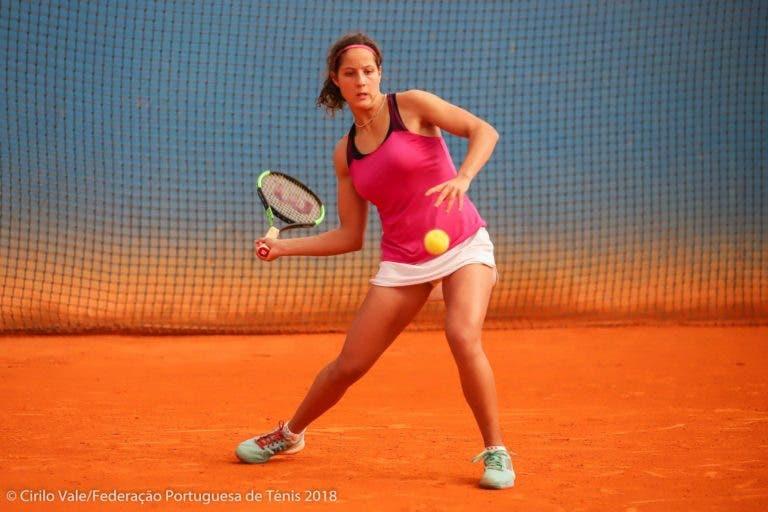 Inês Fonte é a mais jovem finalista do Campeonato Nacional Absoluto desde 1989
