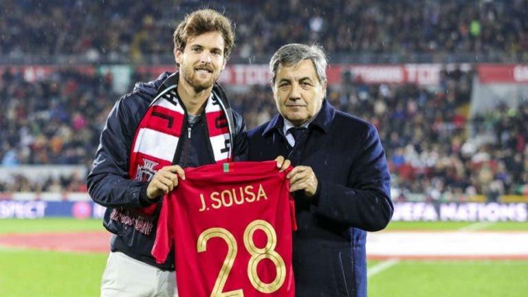 João Sousa reage a distinção da FPF: «Obrigado pela homenagem na minha querida cidade natal e no meu clube»