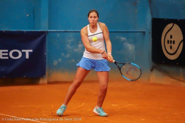 Francisca Jorge reconquista título no Campeonato Nacional Absoluto