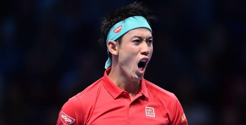 """Nishikori: """"Agora sinto que estou bem, posso treinar e tenho objetivos ambiciosos para 2019"""""""