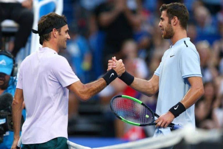 Khachanov escolhe as qualidades que gostava de ter de Federer, Nadal e Djokovic